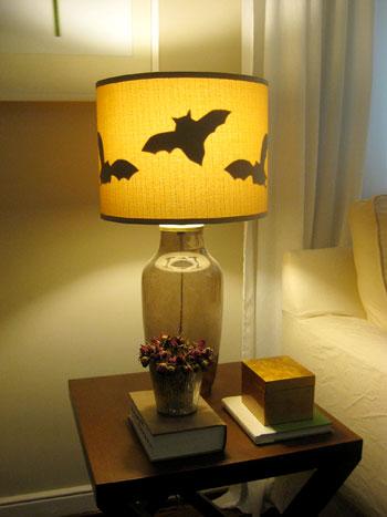 Halloween denever lampa