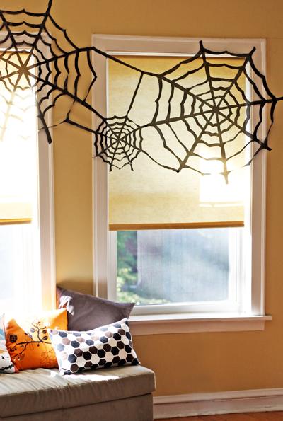 Halloween pókháló